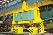 Electro-permanent Lifting Magnet for High Temperature