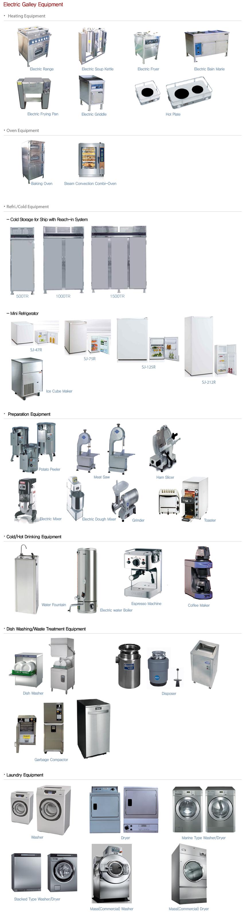 Samjoo ENG Galley Equipment