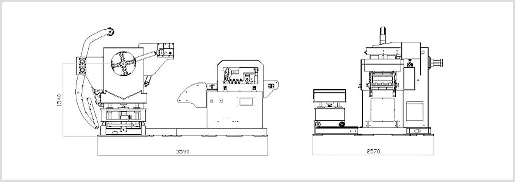 KYUNGIN ENGINEERING N/C Leveller Feeder KNLF-M-Series