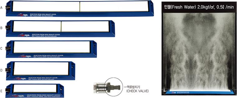 Angelaqua Ceramic Flat Type High Pressure Air Stone (Aluminum Case Type) DY101CF-Series
