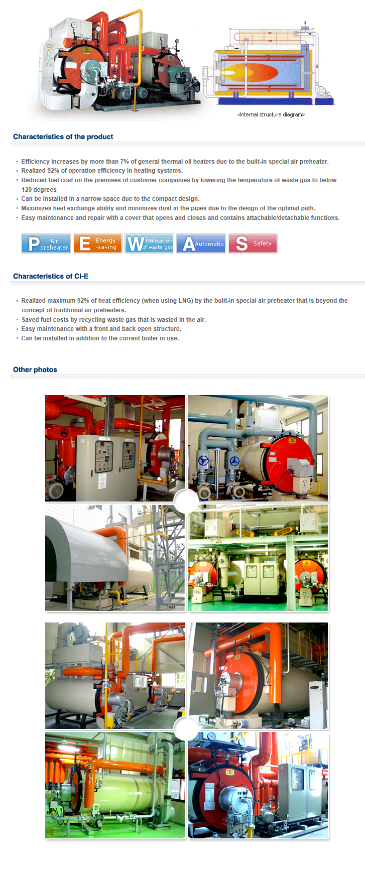 CHOIL THERMAL High Efficient Economic Thermal Oil Heater