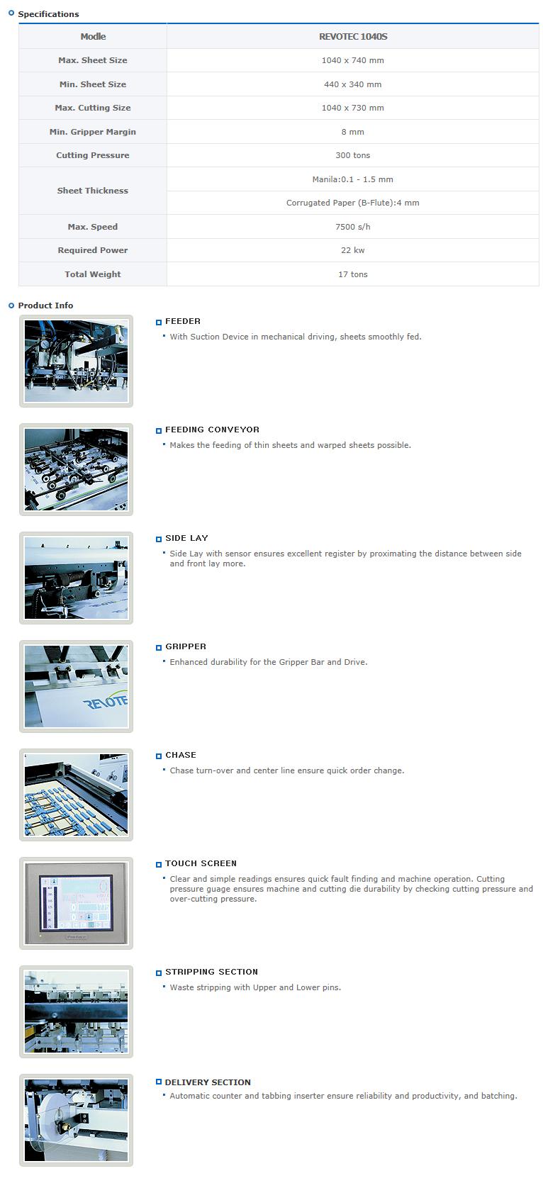 Yougnshin Machinery  REVOTEC 1040S