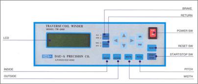 대아권선기술(주) Digital Coil Winder TW-2000F3