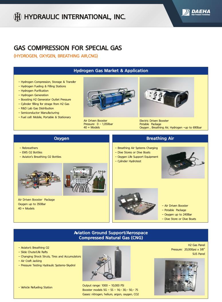 DAEHA Special Gas Compression