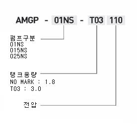 아륭기공  AMGP-NS Type 1