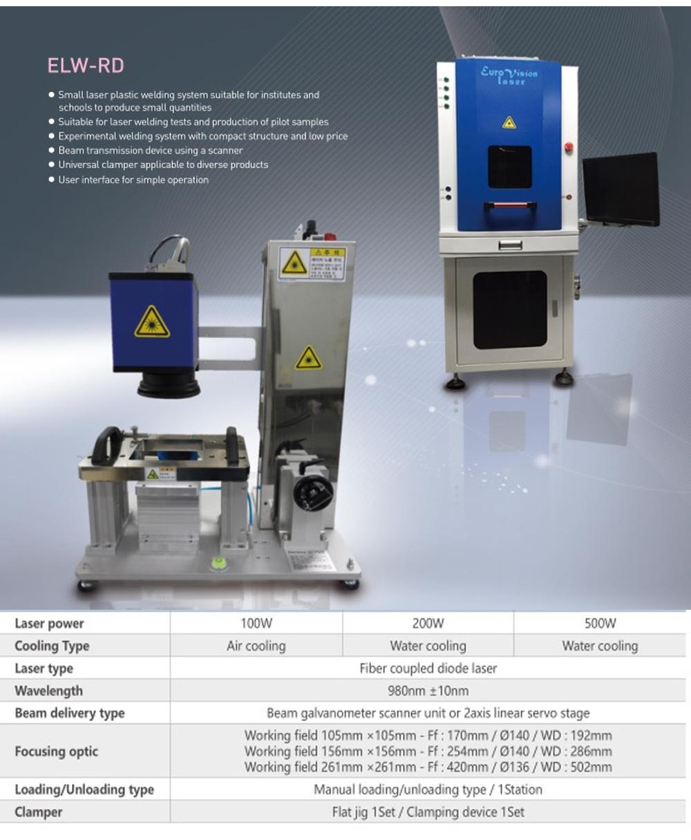 Euro Vision Laser Laser Plastic Welding M/C (R/D)