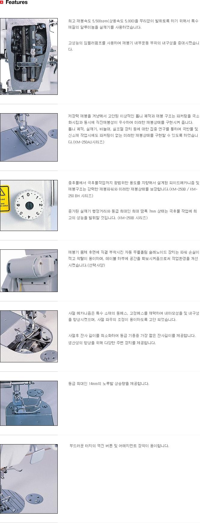 (주)썬스타 본봉 KM-250 Series 3