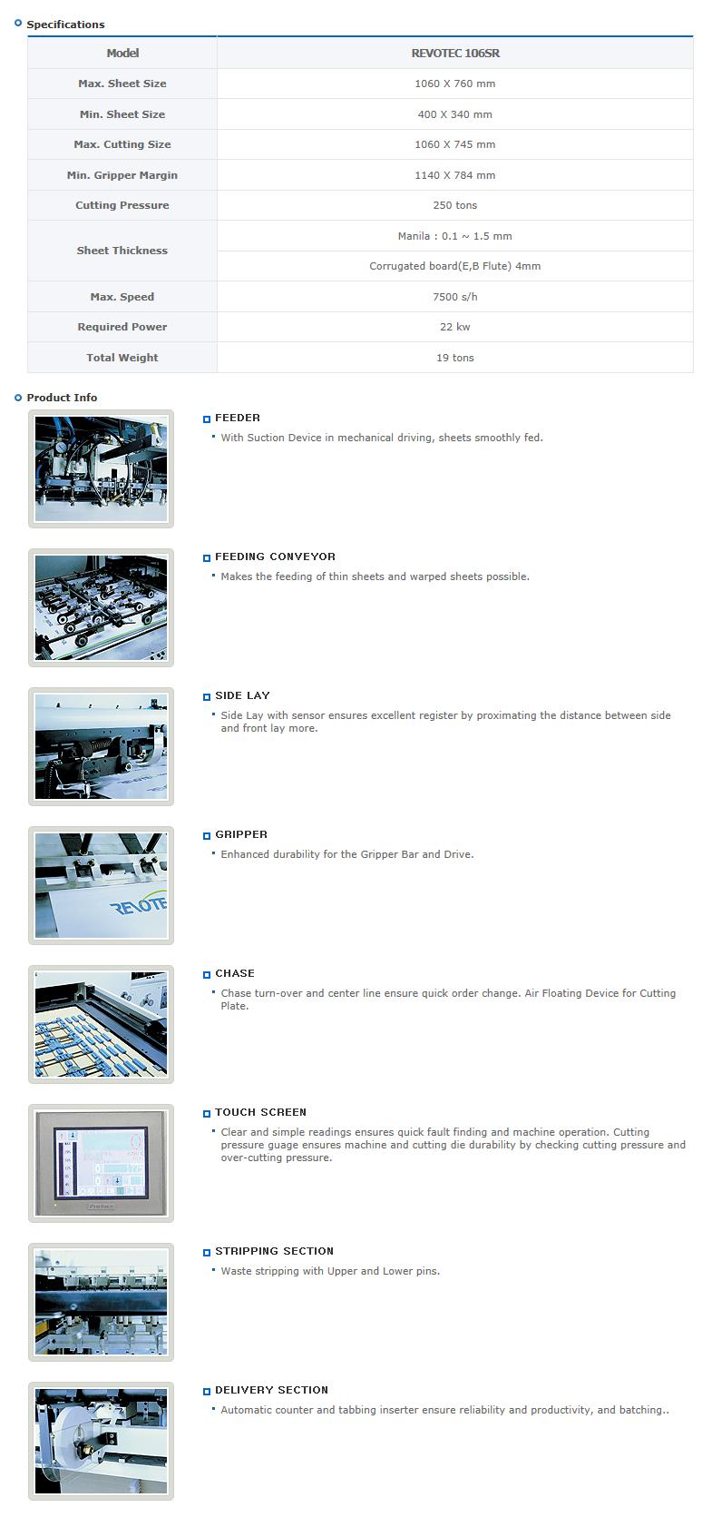 Yougnshin Machinery  REVOTEC 106SR