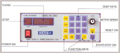 DAE-A TECH Digital Coil Winder DW210A