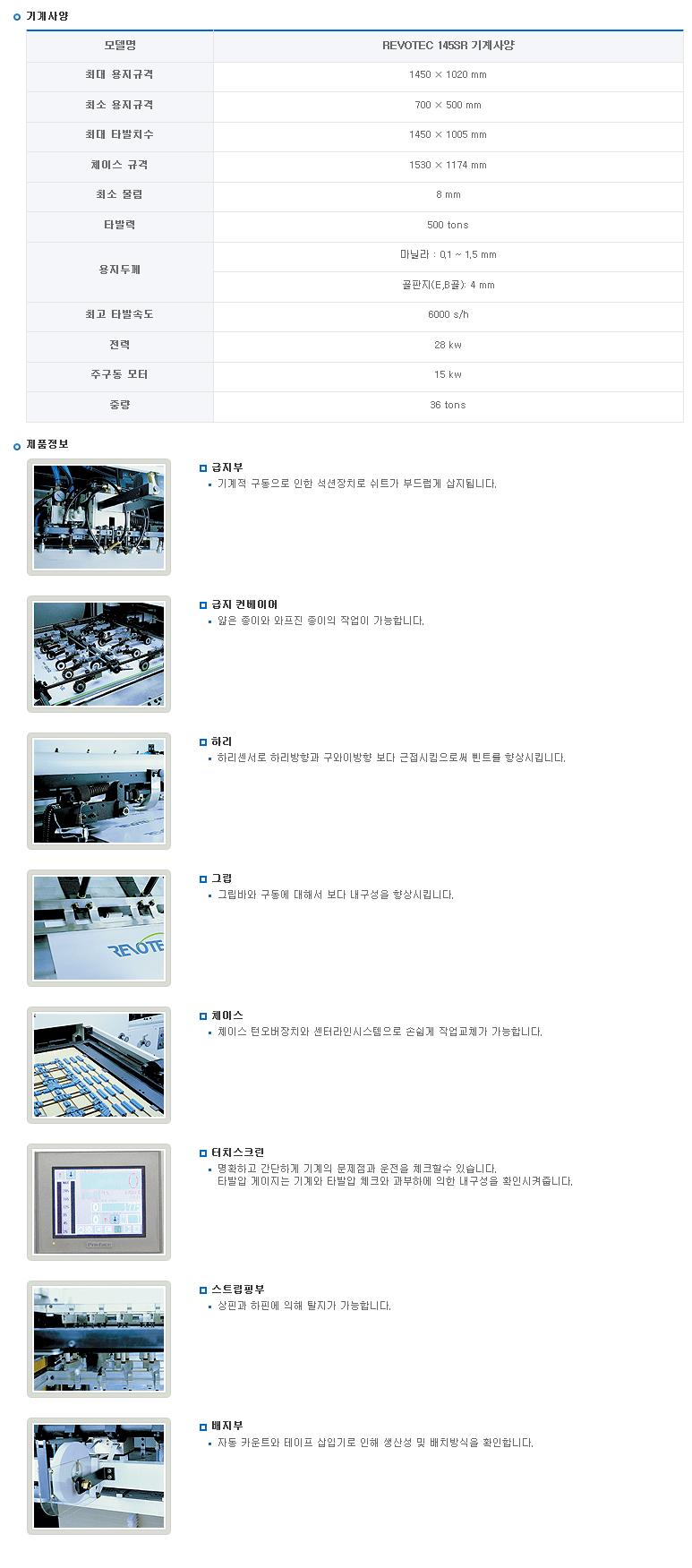 (주)영신기계  REVOTEC 145SR 1
