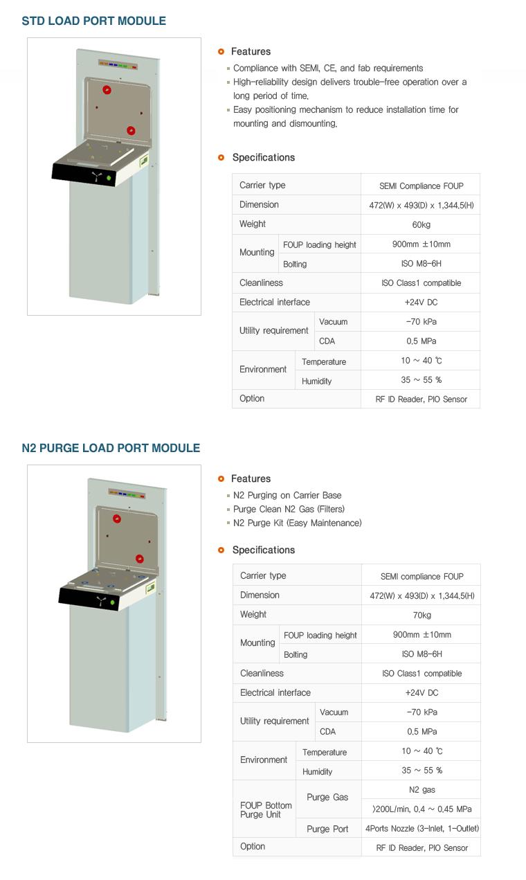 Kostek Systems Load Port Module