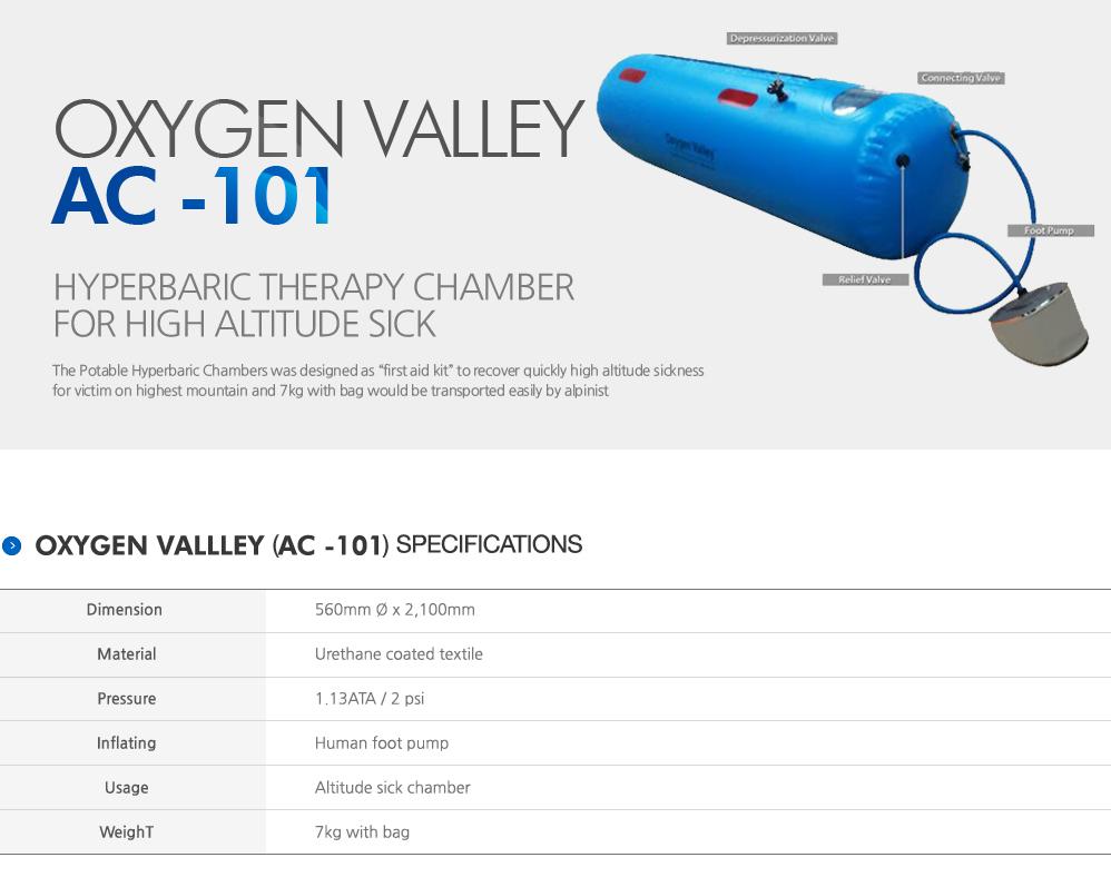 Samboventec Oxygen Valley AC-101