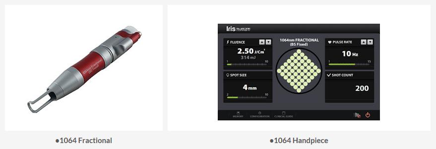 BLUECORE COMPANY Q-switch Nd:YAG Laser Iris 7