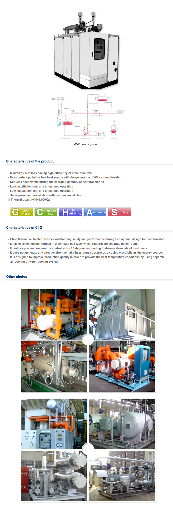 CHOIL THERMAL Electrical Type