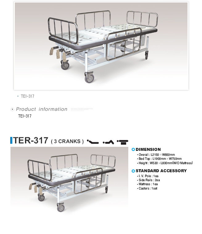 TAEDONG PRIME ICU Bed  1