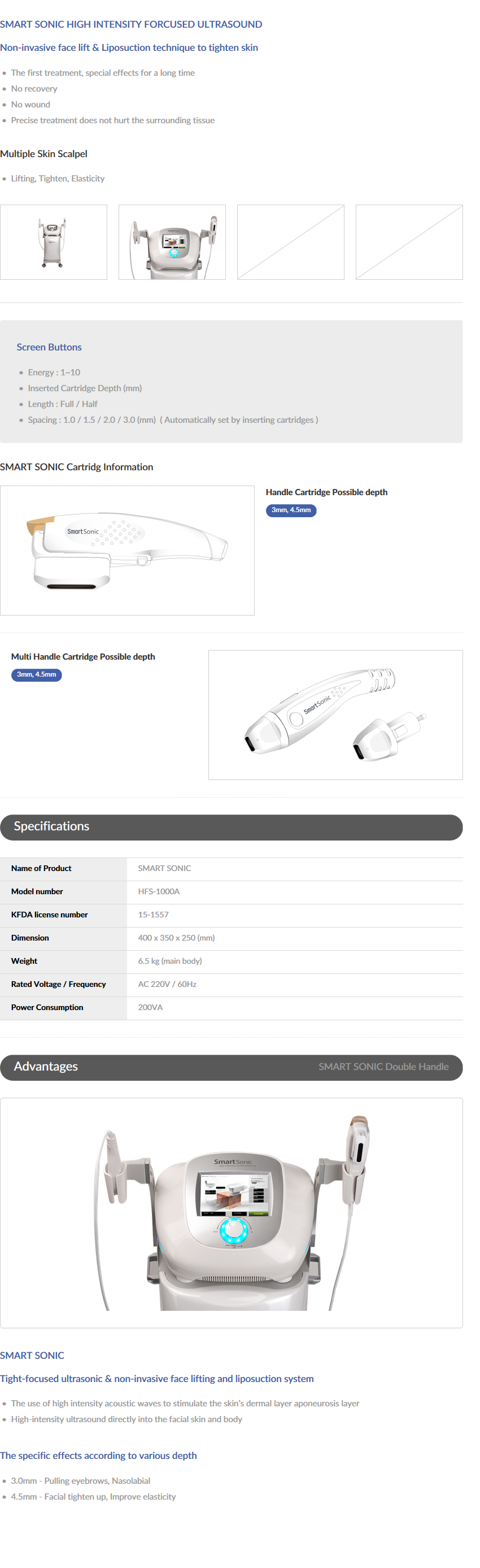 RoboMax SMART SONIC HFS-1000A