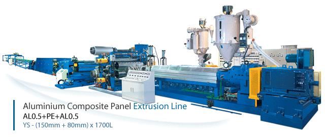 You Sung Industrial Aluminum Coposite Pannel Extrusion Line