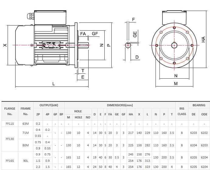 Jungwoo Motor Ltd. B5 Vertical Type