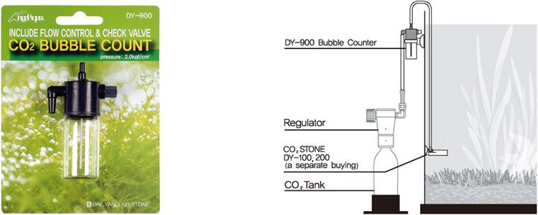 Angelaqua CO2 Ultrafine Bubble Stone / Count DY-100/200/900 1
