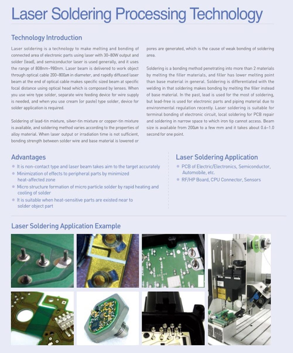 Euro Vision Laser Laser Soldering M/C