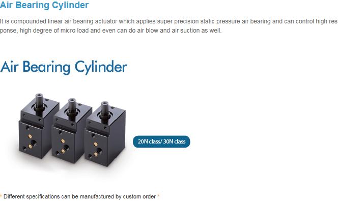 RPS Air Bearing Cylinder