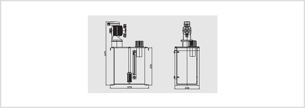 경인엔지니어링 자동오일펌프 KN-C20 1