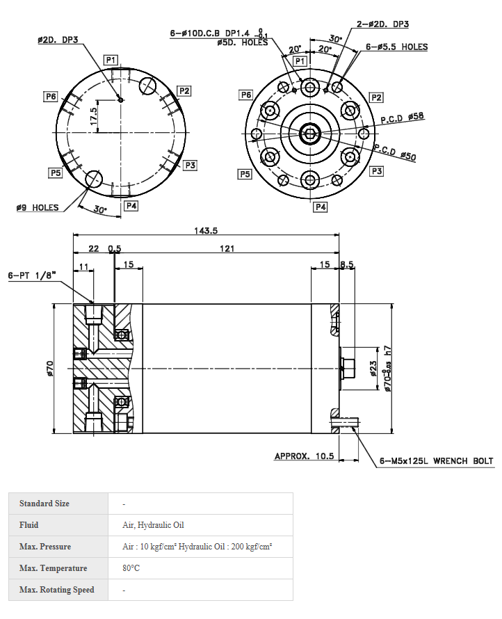 MULTISHYDRO  MJ606S-1B-5X3