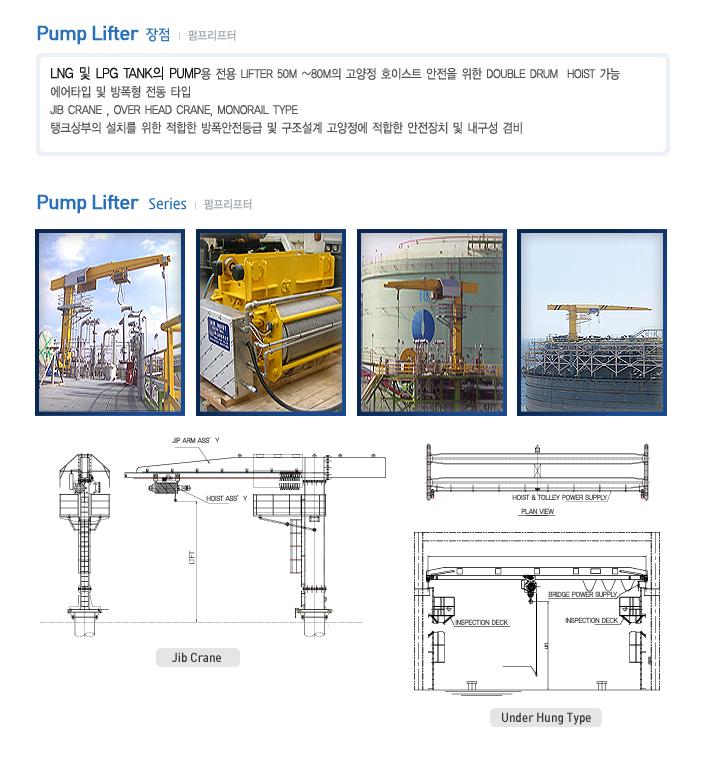 Korea Hoist Pump Lifter