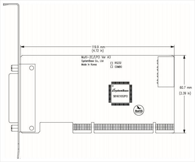 SystemBase PCI Multi-2C/LPCI RS232 2