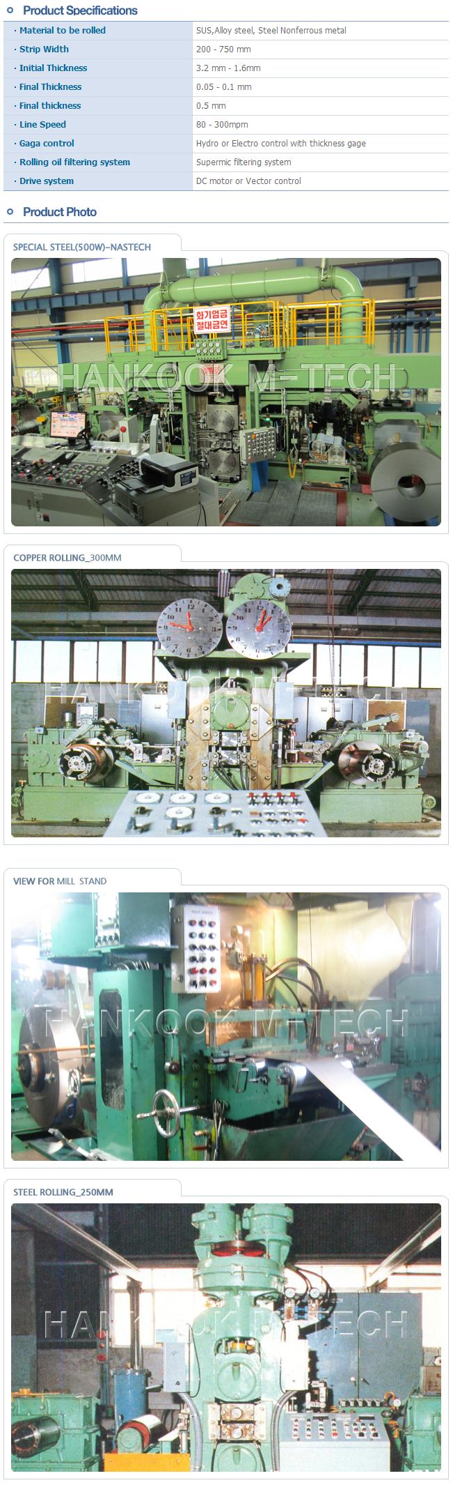 HWA SEONG B & TEC Cold Rolling Mill  2