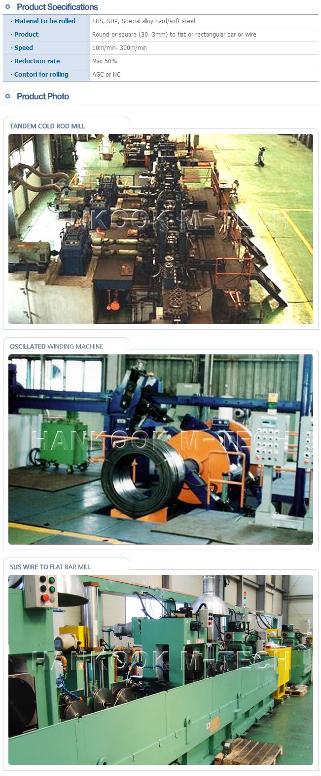 HWA SEONG B & TEC Cold Rolling Mill  4