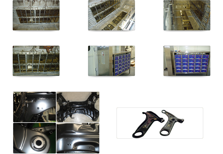 Hanshin Tech Ultrasonic cleaning system for pre-painting process