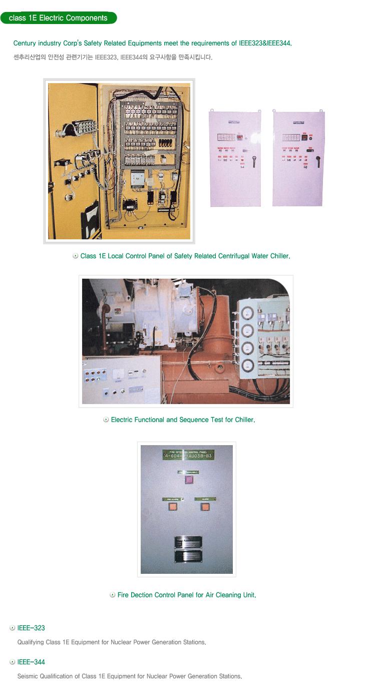 (주)센추리 Class 1E Electric Components