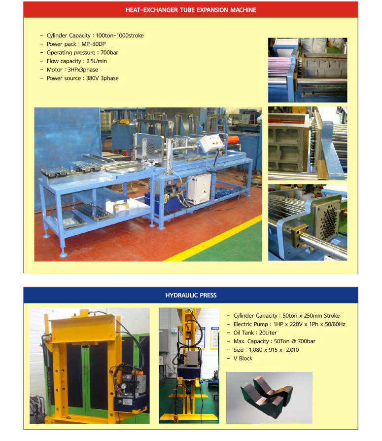 DAEHA Hydraulic System  1