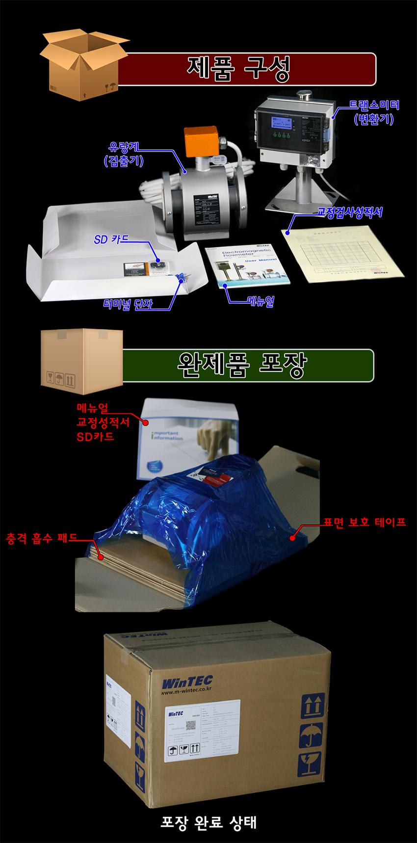 (주)윈텍 전자유량계 EM1100 3