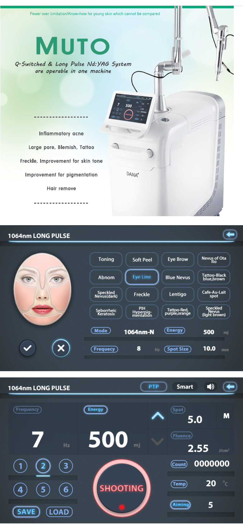 DANA Diode 808 Hair Removal Laser La Belle 808