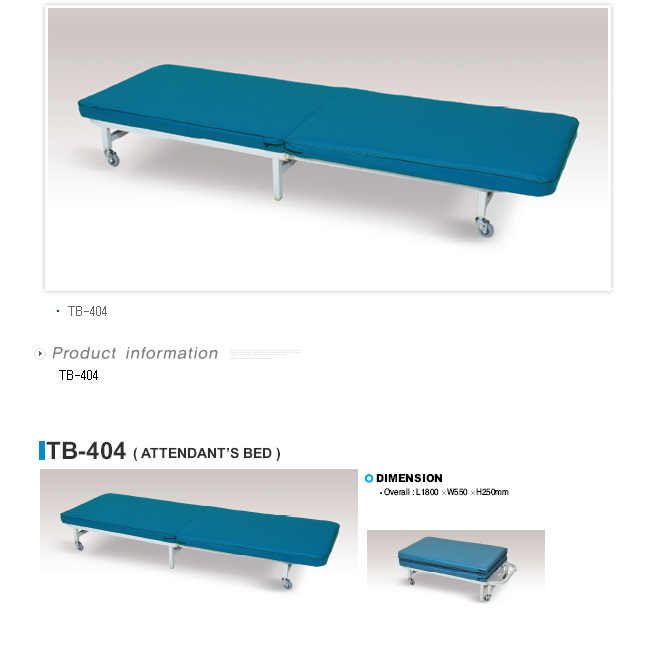 TAEDONG PRIME Attendant Bed  1