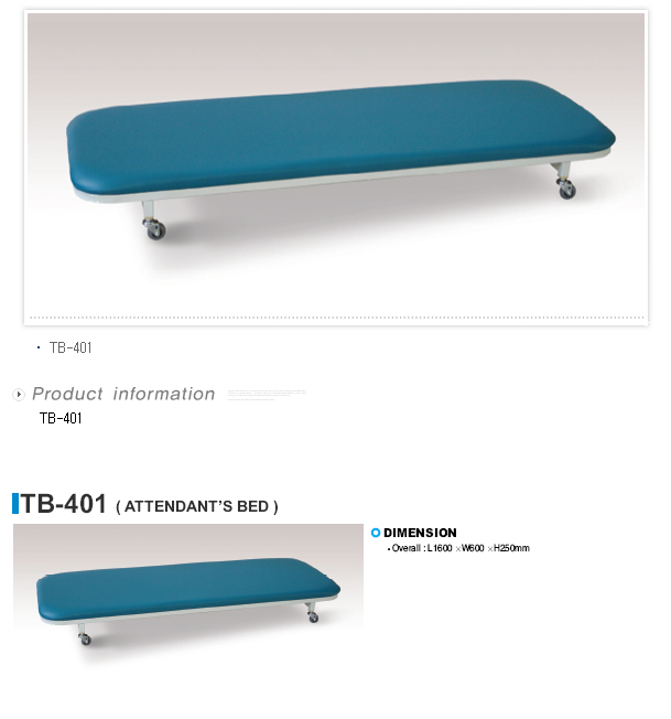 TAEDONG PRIME Attendant Bed  3