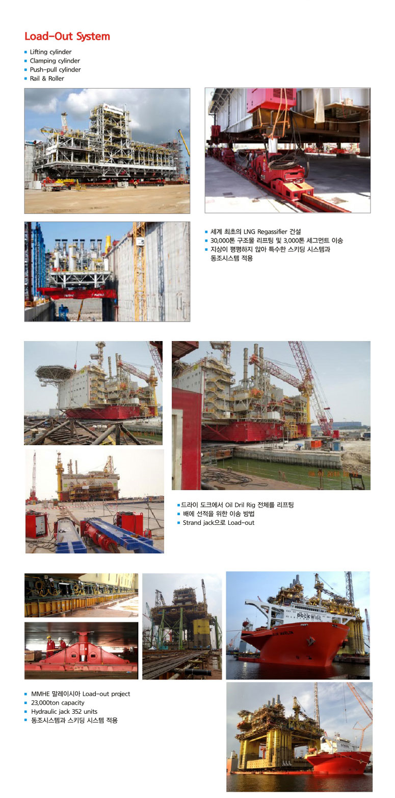 DAEHA Heavy Lifting Systems (Load-out)  2