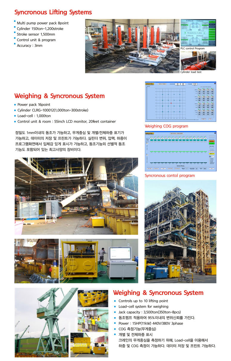 DAEHA Heavy Lifting Systems (Weighing)  1