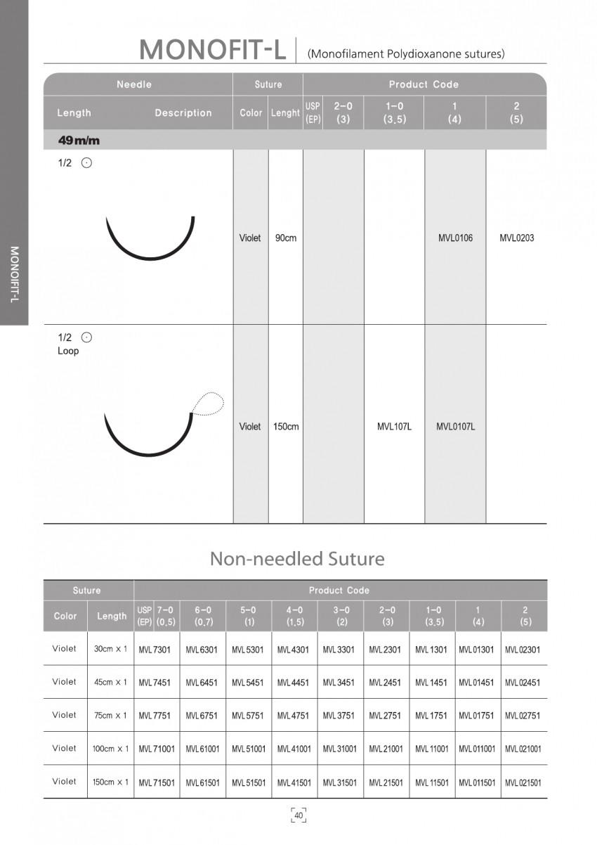 아이리 Monofit-L (PDO)  12