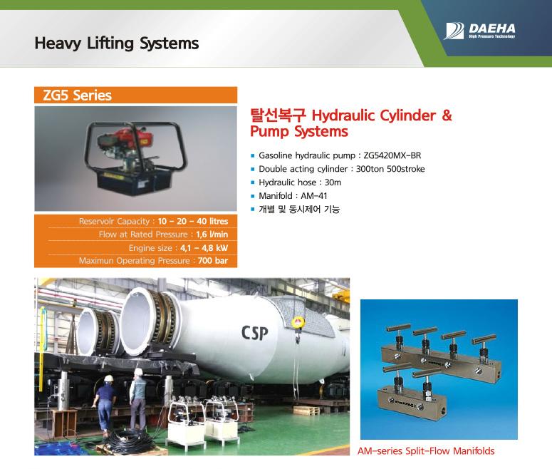 DAEHA Heavy Lifting Systems