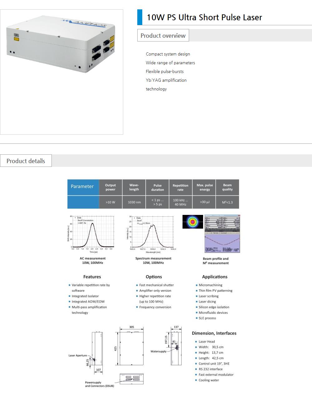 Euro Vision Laser Pico / Femto