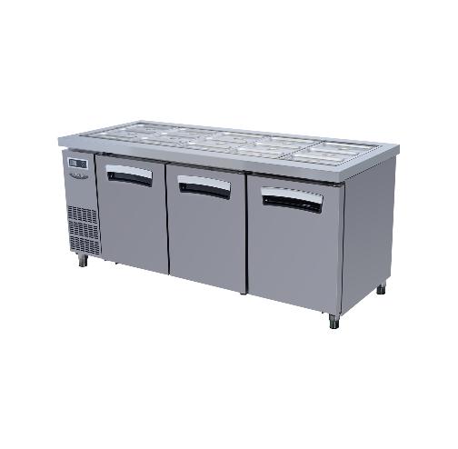 대영E&B S 시리즈 (측면 기계실형) / 샐러드 테이블 LSRT-Series 9