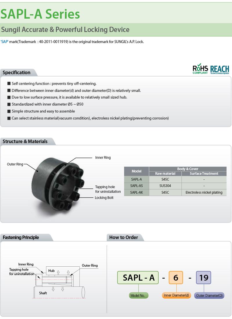 Sung-il Machinery  SAPL-A Series