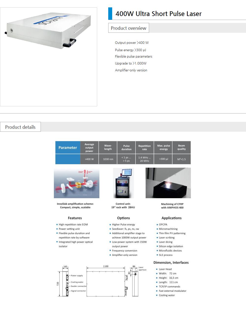 Euro Vision Laser Pico / Femto  4