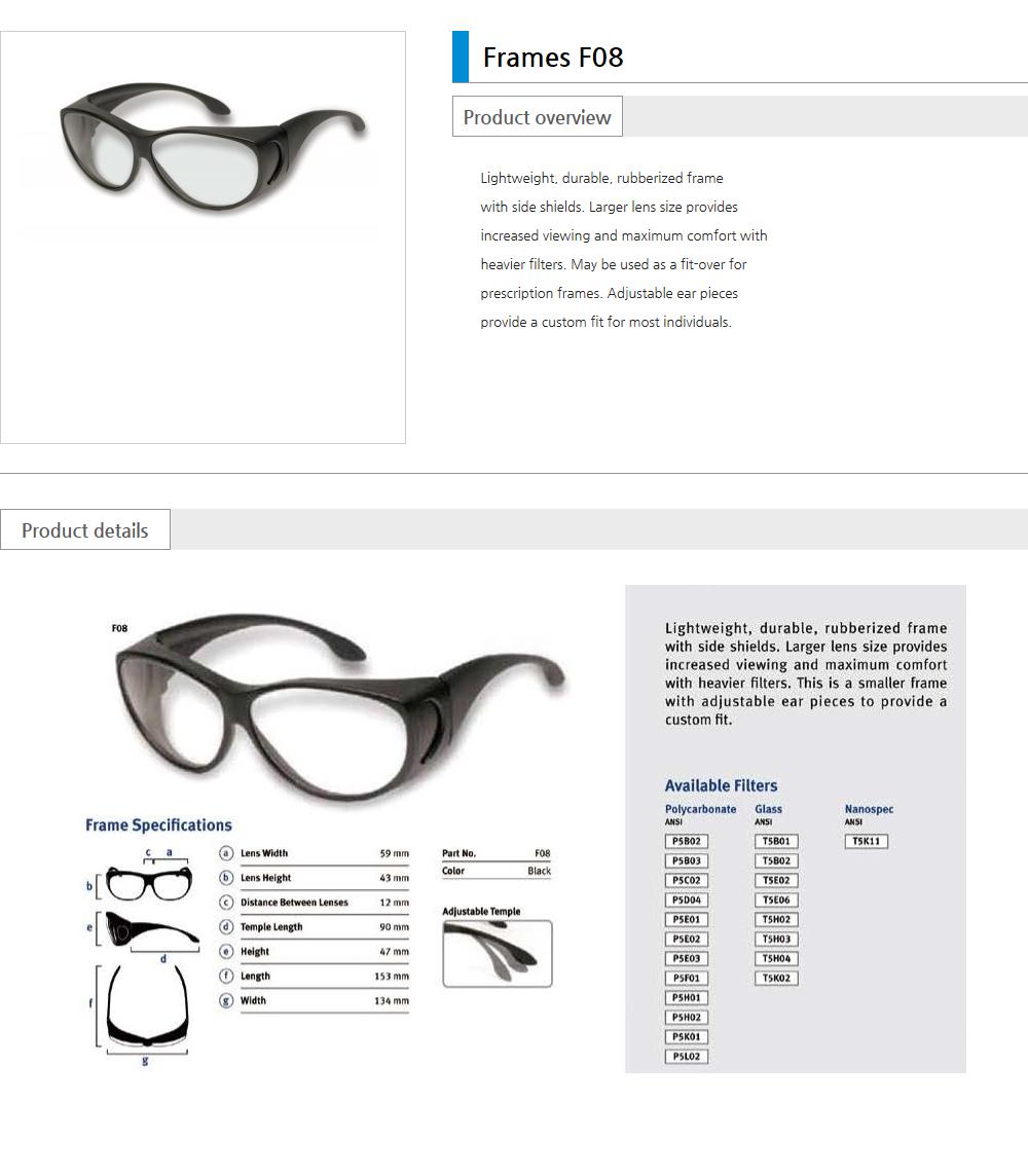 Euro Vision Laser Laser safety eyewear  1