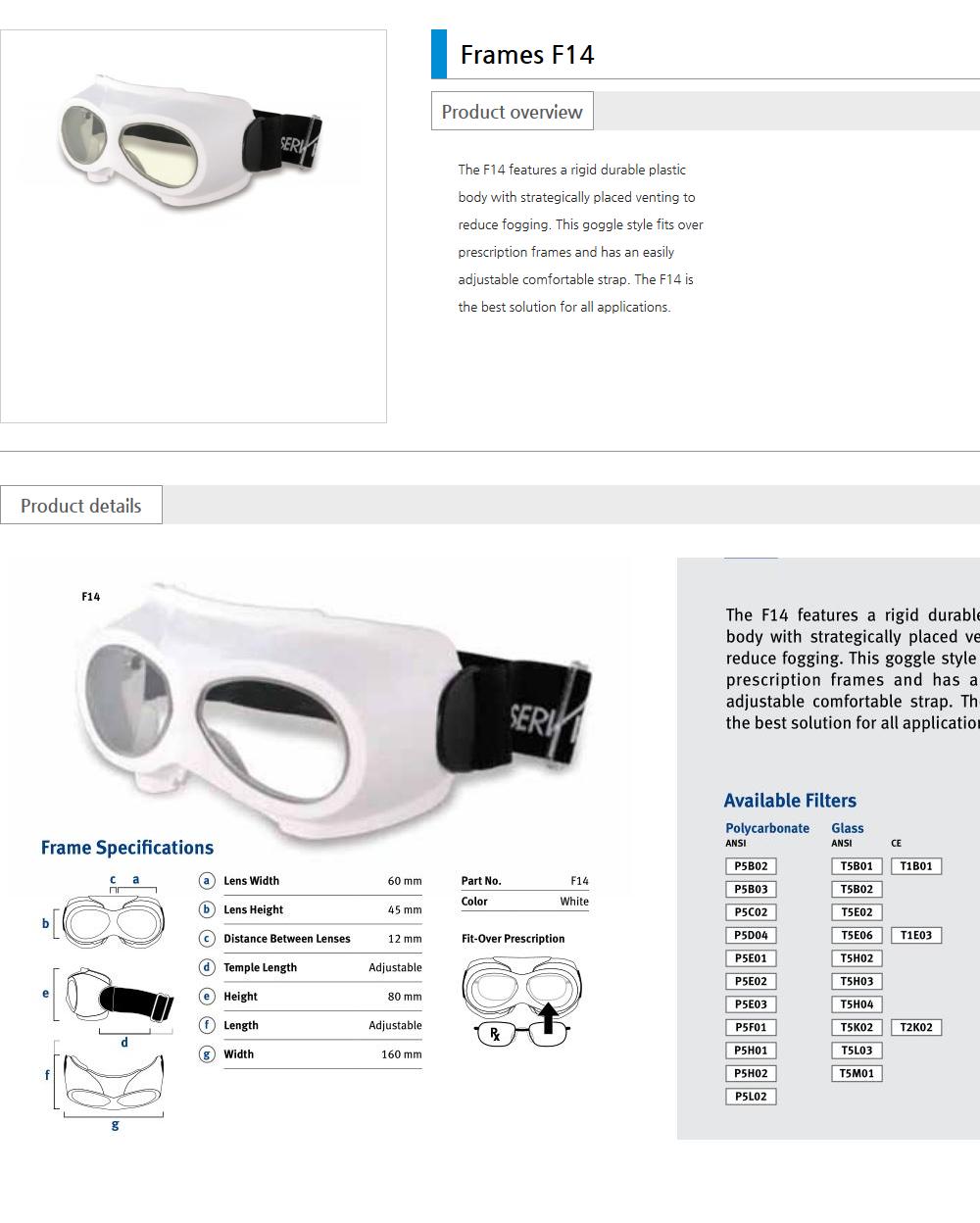 Euro Vision Laser Laser safety eyewear  4