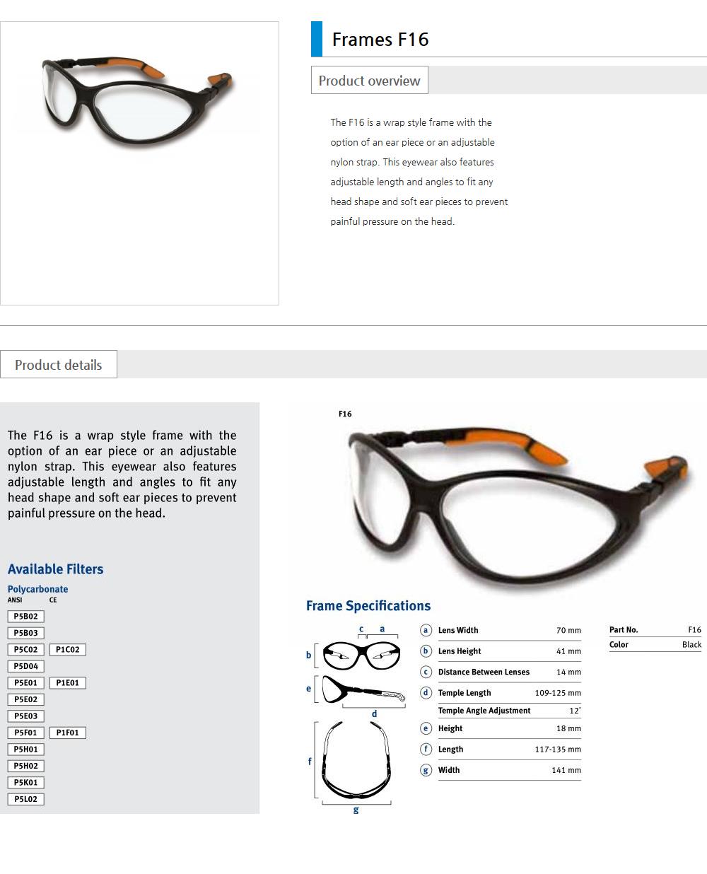 Euro Vision Laser Laser safety eyewear  5