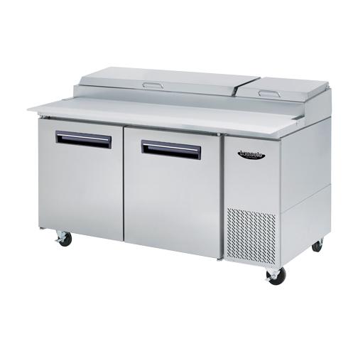 대영E&B S 시리즈 (측면 기계실형) / 피자 토핑 테이블 LPT-Series 4
